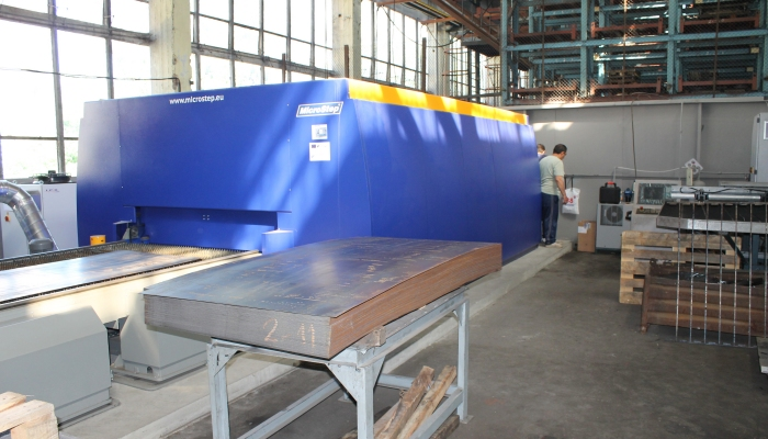 Fiber Laser Cutting Installation